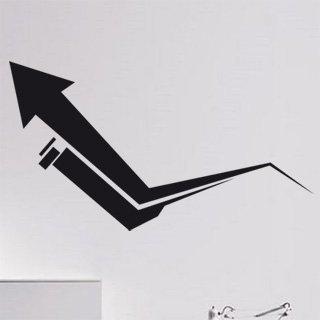 Samolepka na zeď Šipka 003 - 108x60 cm
