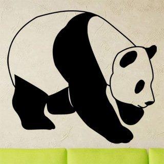 Nálepka na zeď Panda 004 - 120x108 cm
