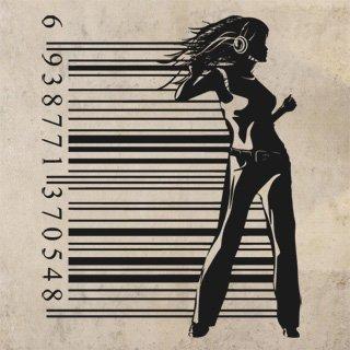 Nálepka na zeď Žena 021 - 120x150 cm