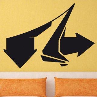 Samolepka na stěnu Šipka 006 - 170x120 cm