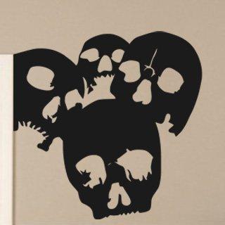 Samolepící dekorace Lebky 001 - 100x100 cm