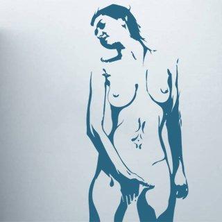 Samolepící dekorace Nahá žena 001 - 80x174 cm