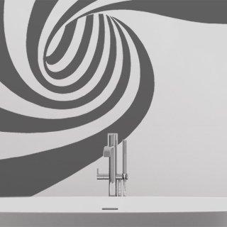Nálepka na zeď Spirála 001 - 142x100 cm