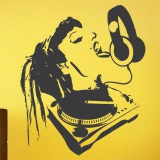 Samolepka na zeď DJ 005 - 80x96 cm