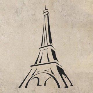 Samolepka Eifelova věž 002 - 80x121 cm