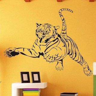 Samolepka na zeď Tygr 004 - 120x92 cm