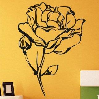 Samolepka na stěnu Růže 013 - 120x168 cm