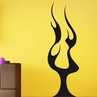 Samolepící dekorace Plameny 013 - 80x245 cm