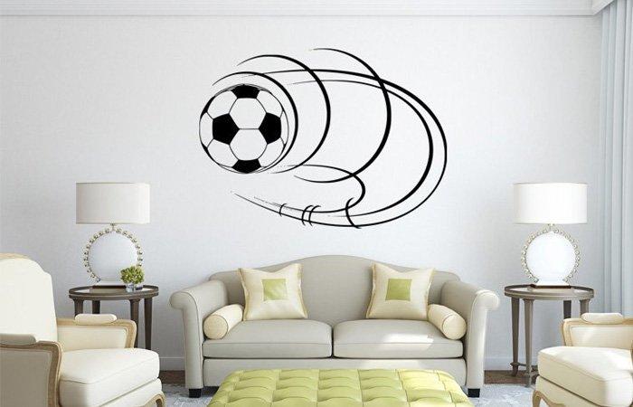 Fotbalový míč na zeď jako dárek potěší mladé fotbalisty i fanoušky