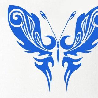 Nálepka na zeď Motýl 012 - 120x105 cm