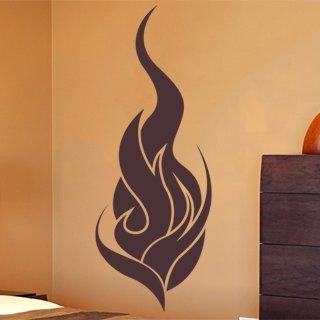 Samolepící dekorace Plameny 001 - 80x212 cm