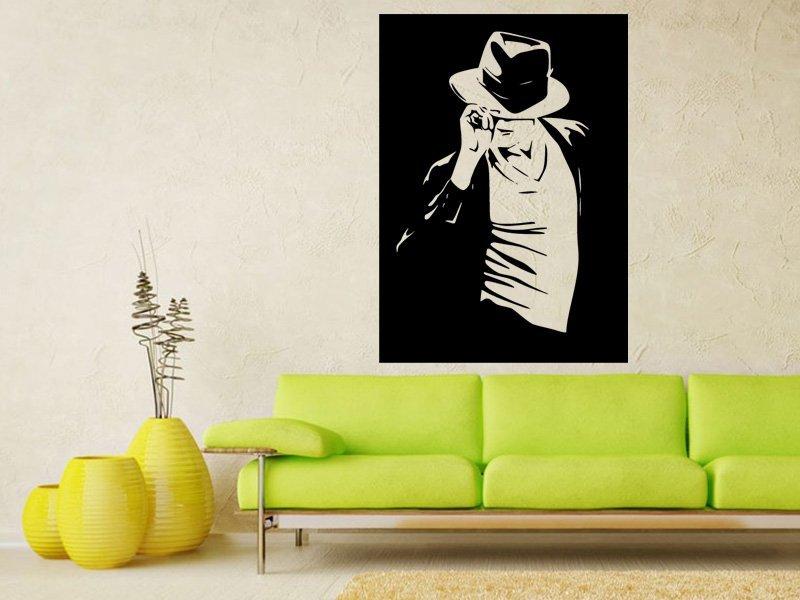 Samolepka na zeď Michael Jackson 1340