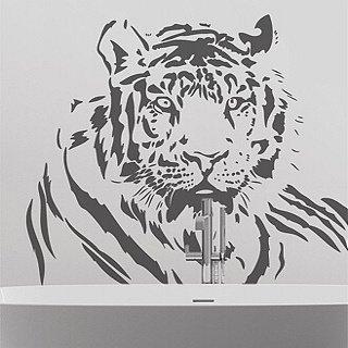 Samolepka Tygr 005 - 112x80cm