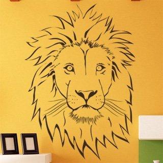 Nálepka na zeď Lev 001 - 120x170 cm