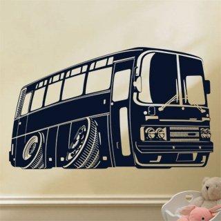 Samolepka na zeď Autobus 001 - 101x60 cm
