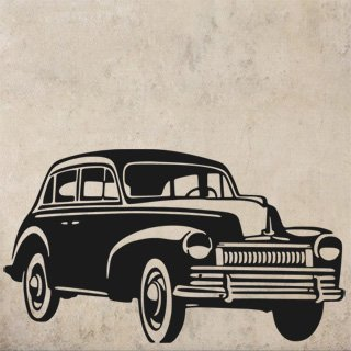 Samolepící dekorace Auto 025 - 140x80 cm