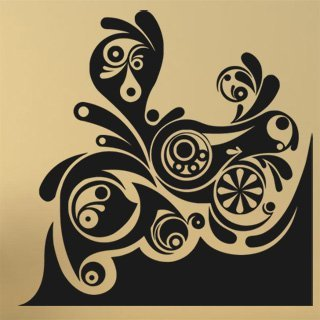 Samolepka Ornament 0177 - 100x100 cm