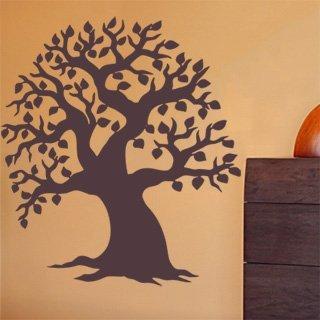 Samolepka na zeď Strom 005 - 80x98 cm