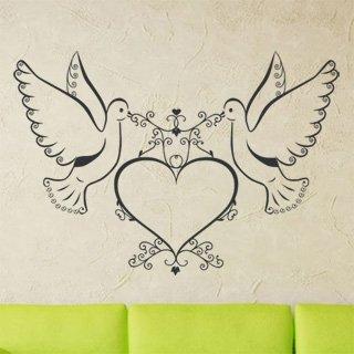 Samolepící dekorace Láska 002 - 145x100 cm