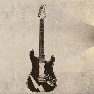 Samolepka na zeď Kytara 002 - 60x173 cm