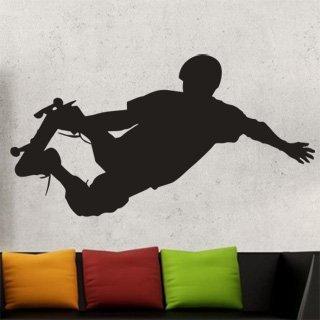 Samolepka na stěnu Skateboardista 001 - 225x120 cm