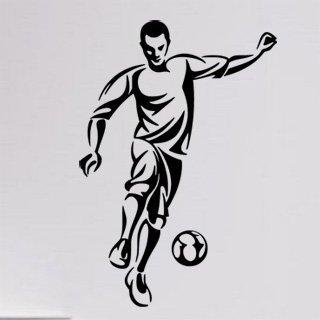 Samolepka Fotbalista 0582 - 83x120 cm