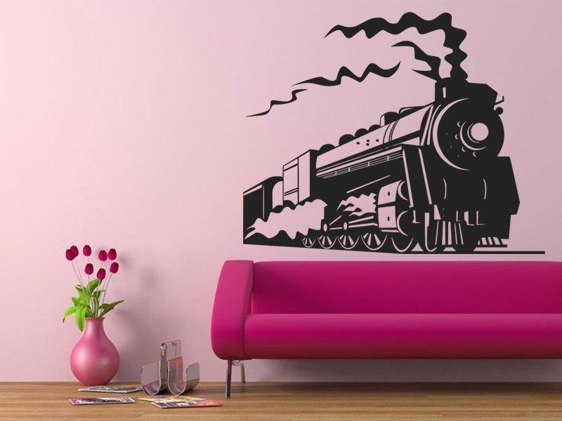 Samolepicí vlak do každého dětského pokoje
