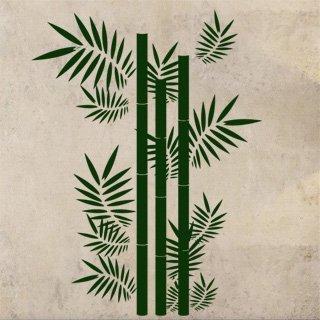 Samolepka na stěnu Bambus 001 - 120x160 cm