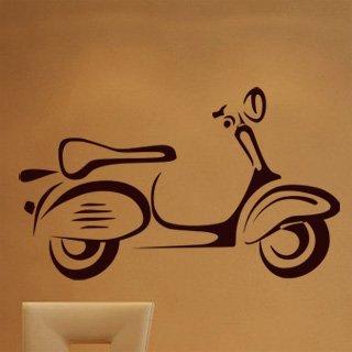 Samolepící dekorace Motorka 024 - 134x80 cm