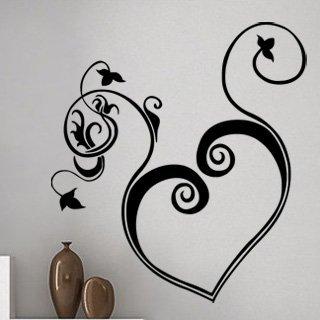 Samolepící dekorace Srdce 005 - 100x110 cm