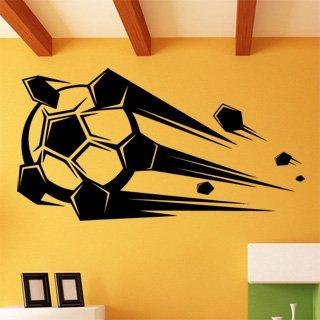 Samolepící dekorace Fotbalový míč 010 - 150x80 cm