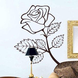 Samolepka Růže 001 - 80x99 cm