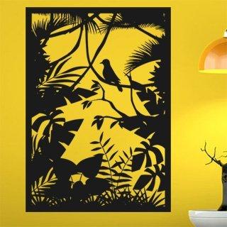Samolepka na zeď Lesní zátiší 001 - 72x100 cm