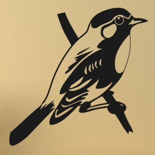 Nálepka na zeď Pták 013 - 122x120 cm