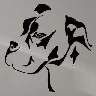 Nálepka na zeď Mastif 001 - 120x122 cm