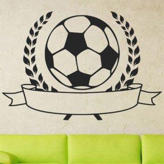 Nálepka na zeď Fotbalový míč 001 - 176x120 cm