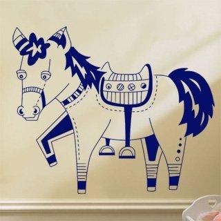 Samolepící dekorace Kůň 017 - 120x100 cm