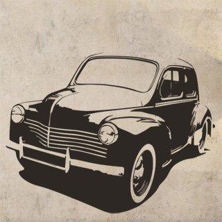 Nálepka na zeď Auto 043 - 157x120 cm