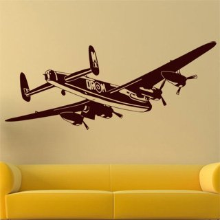 Nálepka na zeď Letadlo 015 - 245x100 cm