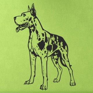 Samolepka na zeď Doga 003 - 60x84 cm