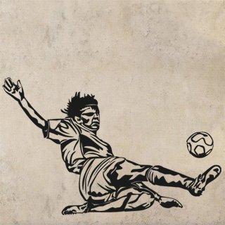 Samolepka na zeď Fotbalista 005 - 96x60 cm