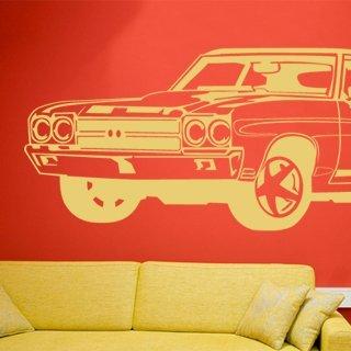 Samolepka na zeď Auto 010 - 120x45 cm