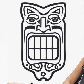 Samolepka na stěnu Maska 005 - 120x205 cm