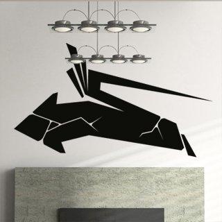 Samolepící dekorace Šipka 002 - 140x80 cm