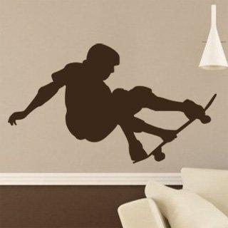 Samolepka na zeď Skateboardista 004 - 106x60 cm