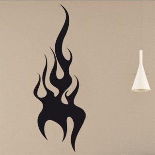 Samolepící dekorace Plameny 009 - 100x285 cm