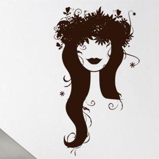 Samolepka na zeď Žena 011 - 60x105 cm