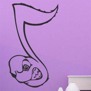 Samolepka na stěnu Noty 004 - 120x206 cm