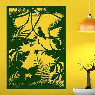 Nálepka na zeď Lesní zátiší 001 - 120x169 cm