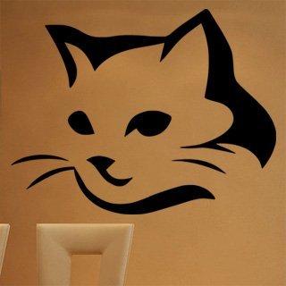 Samolepka na stěnu Kočka 0469 - 156x120 cm